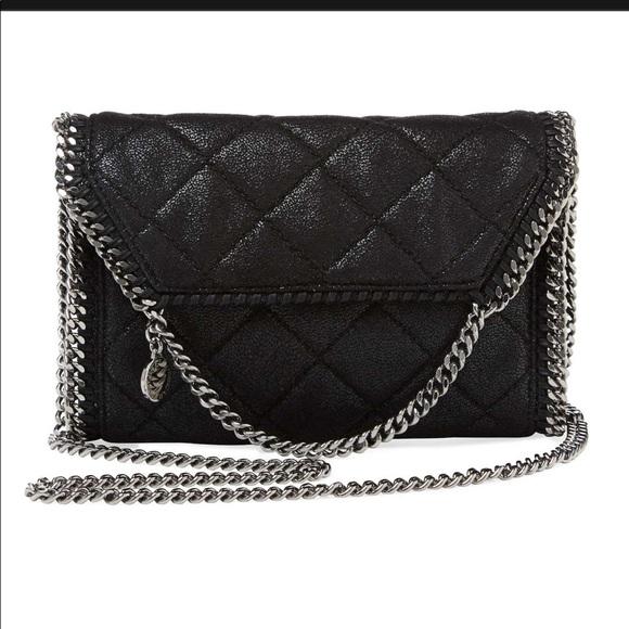 91457daa96a1 Stella McCartney Falabella Quilted Shaggy Mini Bag